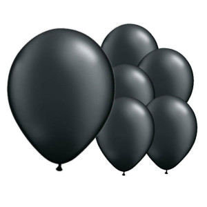 100-Ink-Black-12-Inch-Latex-Balloons-product-image