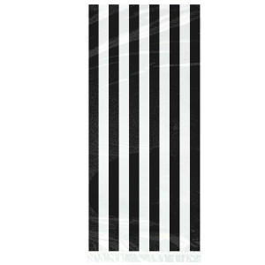 Black-and-White-Stripes-Theme-Plastic-Gift-Bags