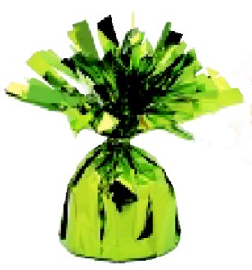 Lime-Green-Foil-Balloon-Weight
