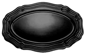 Black-Oval-Plastic-Tray