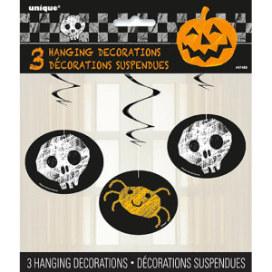 halloween-checkered-hanging-swirl-decorations-pack-of-3