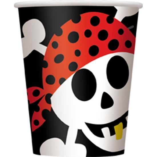 pirate-fun-theme-paper-cup