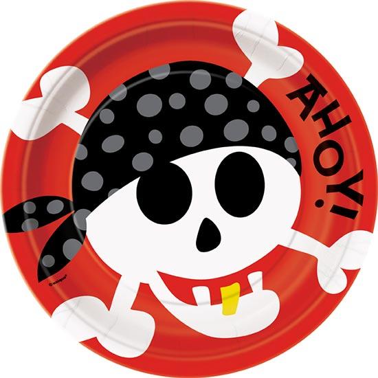 pirate-fun-theme-paper-plate