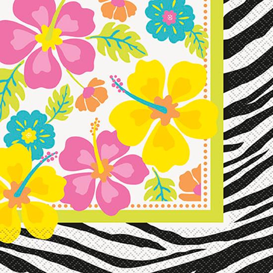 wild-luau-theme-luncheon-napkins