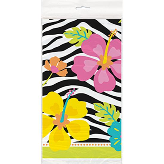 wild-luau-theme-plastic-tablecover