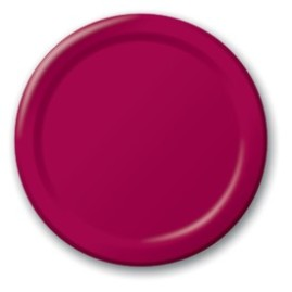 Burgundy-9-Inch-Paper-Plate