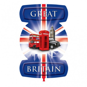 Great-Britain-Theme-London-Icons-Message-SuperShape-Foil-Balloon-21-X-24-Inches-product-image
