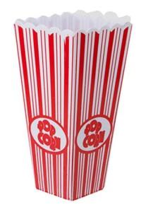 Plastic-Popcorn-Box-20cms-Tall