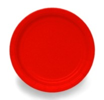 Ruby-Red-9-Inch-Paper-Plate