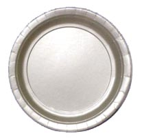 Silver-9-Inch-Paper-Plate