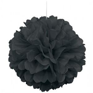 Black-Honeycomb-Hanging-Decoration-Puff-Ball-300x300
