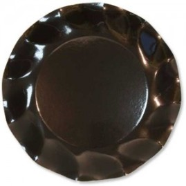 Black-Large-27cms-Plastic-coated-Paper-Plate-300x300