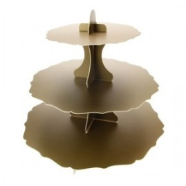 Gold-Cardboard-Cup-Cake-Stand-13-x-14-Inches-300x300