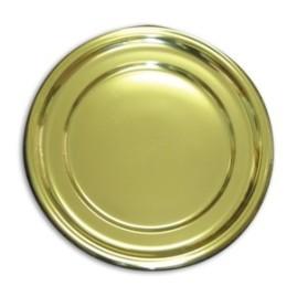 Gold-Round-Plastic-Tray