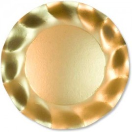 Satin-Gold-Large-27cms-Plastic-coated-Paper-Plate-300x300