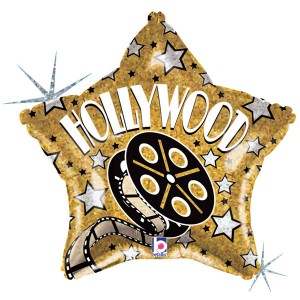 Hollywood-Themed-19-Inch-Holographic-Foil-Balloon-product-image-300x300