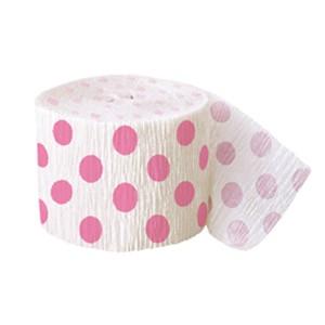 Hot-Pink-Decorative-Dots-Streamer-image-300x300
