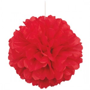 Red-Honeycomb-Hanging-Decoration-Puff-Ball-300x300