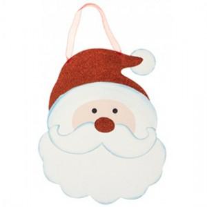 christmas-glitter-santa-hanging-plaque-300x300