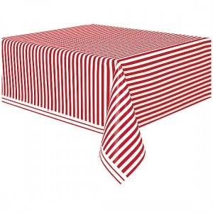 Red-and-White-Stripes-Theme-Plastic-Tablecover