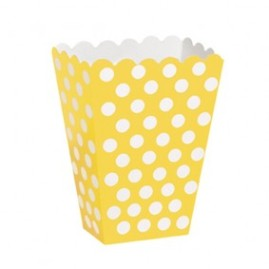 Sunflower-Yellow-Decorative-Dots-Treat-Boxes-283x300