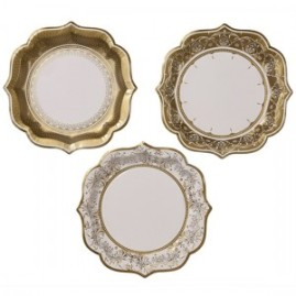 porcelain-gold-pretty-paper-plate-8-inches-20cm-pack-of-12-300x300