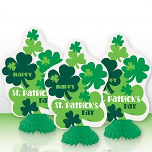 st-patricks-day-clover-mini-honeycomb-decorations