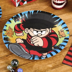 dennis-the-menace-round-paper-plate-9-inches-23cm-300x300