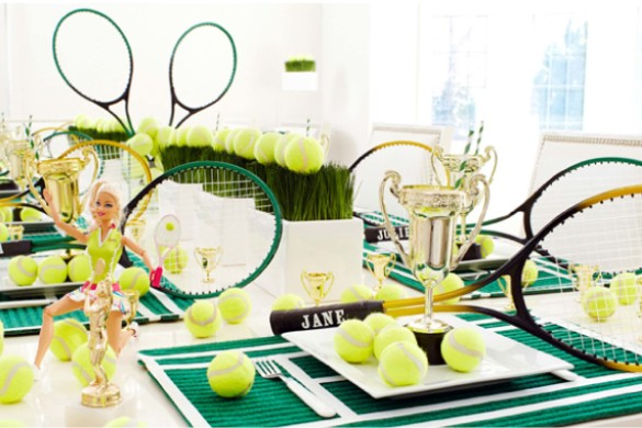 Tennis Party Supplies