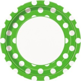 lime-green-decorative-dots-23cm-paper-plate-product-image-300x300