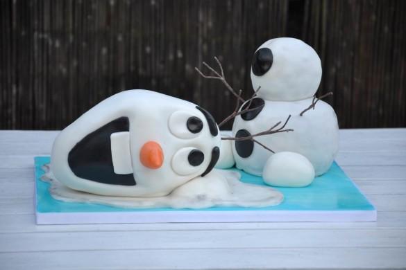 Olaf Cake Recipe