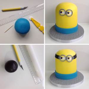 Marvelous How To Make A Minion Birthday Cake Partyrama Blog Funny Birthday Cards Online Eattedamsfinfo