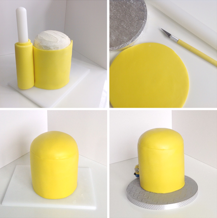 How To Make A Minion Birthday Cake Partyrama Blog