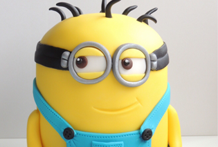 Birthday Cake Images Minions ~ How to make a minion birthday cake partyrama
