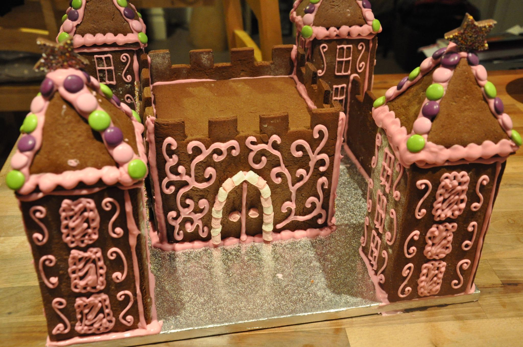 How To Make A Princess Gingerbread Castle Partyrama Blog