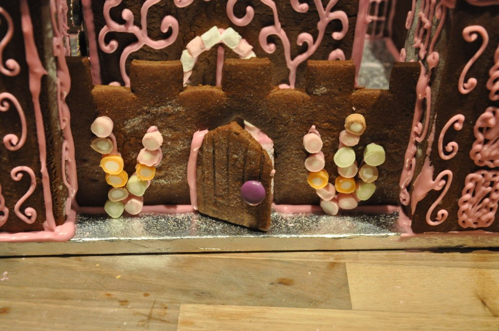 Use dolly mixture sweets to style the castle walls