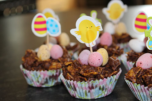 Cornflake Easter Nests
