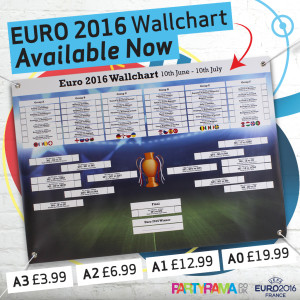 EURO 2016 Wall Charts Available Now!