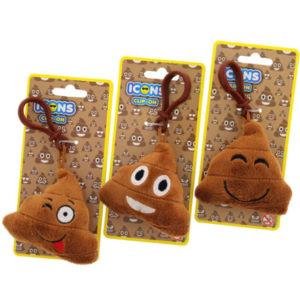 Emoji Poop Keyrings