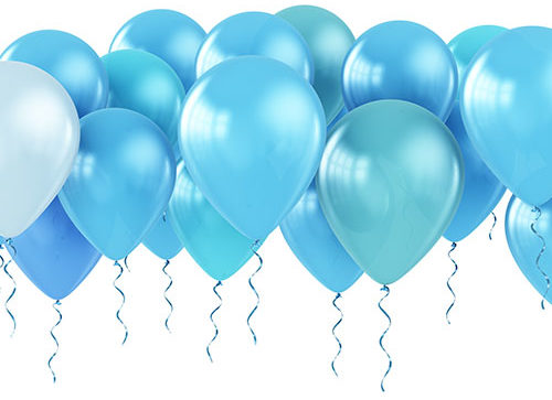 Balloons With Ribbon