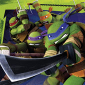 Teenage Mutant Ninja Turtles Napkins