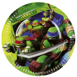 Teenage Mutant Ninja Turtles Paper Plate