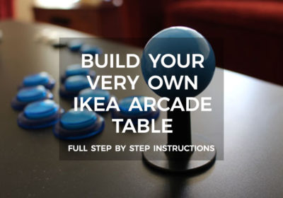 How To Build A Retropie Ikea Arcade able