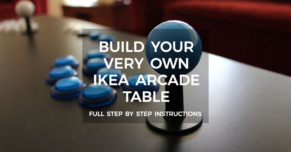 How To Build A Retropie Ikea Arcade able