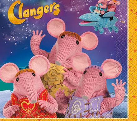 Clangers Napkins