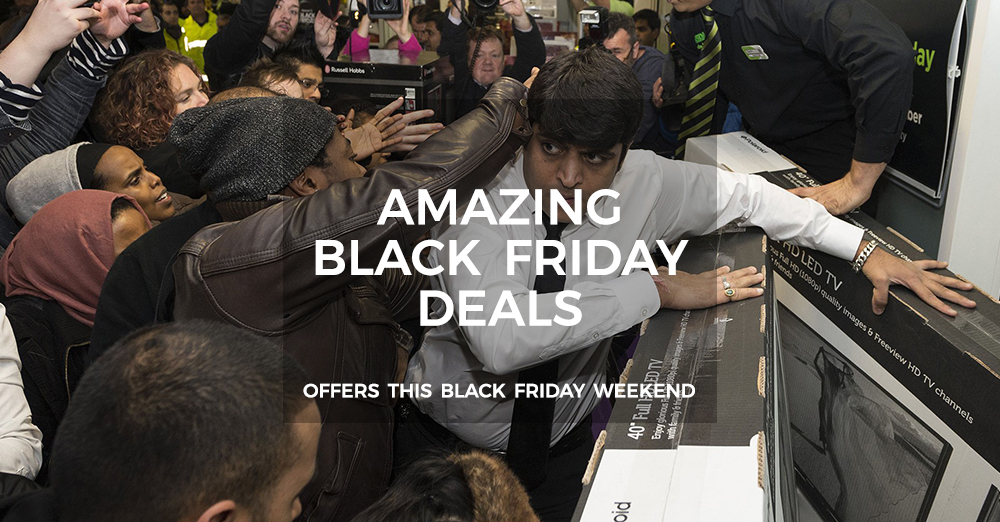 Black Friday Deals Promotional Image