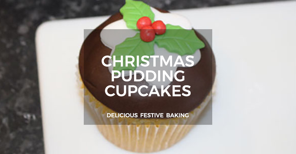 Christmas Pudding Cupcake