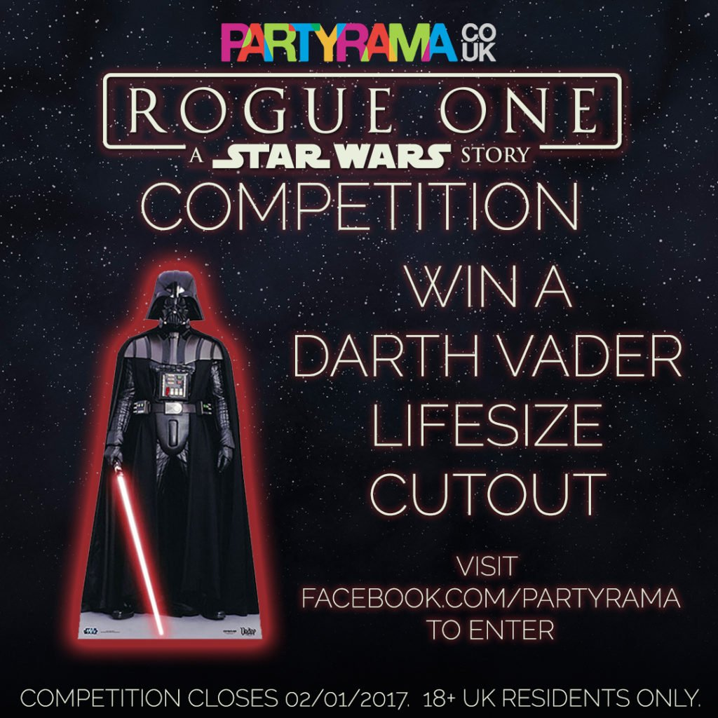 Win A Darth Vader Lifesize Cutout