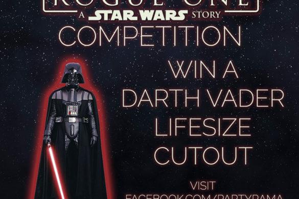 Win A Darth Vader Lifesize Cutout