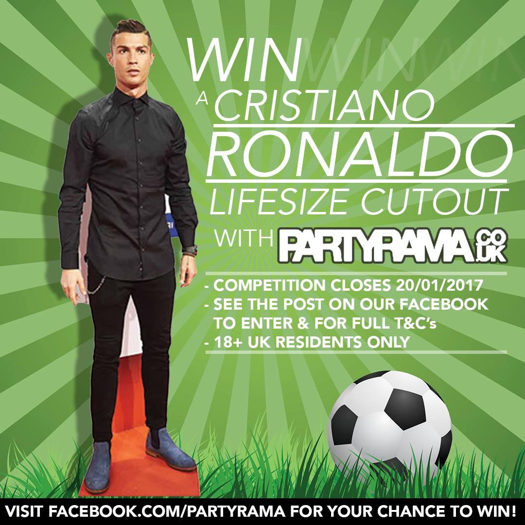 Win A Ronaldo Life Size Cutout